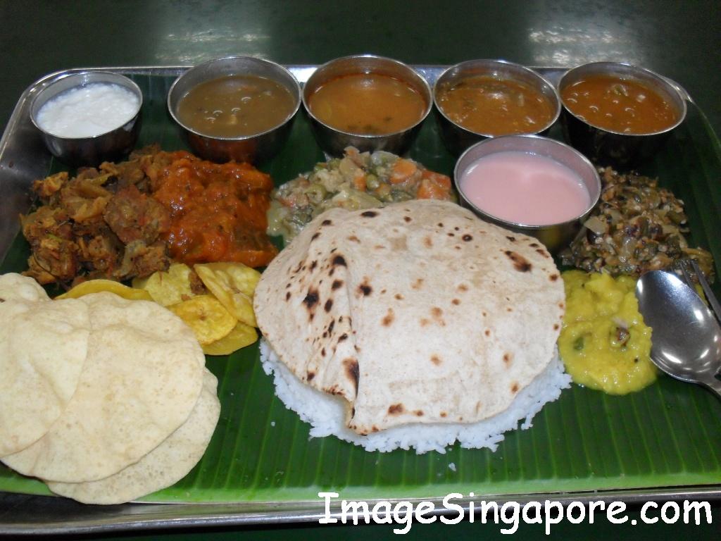 Indian Thali Vegetaria...