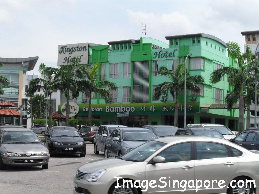 Rows of Shops next to Sutera Mall
