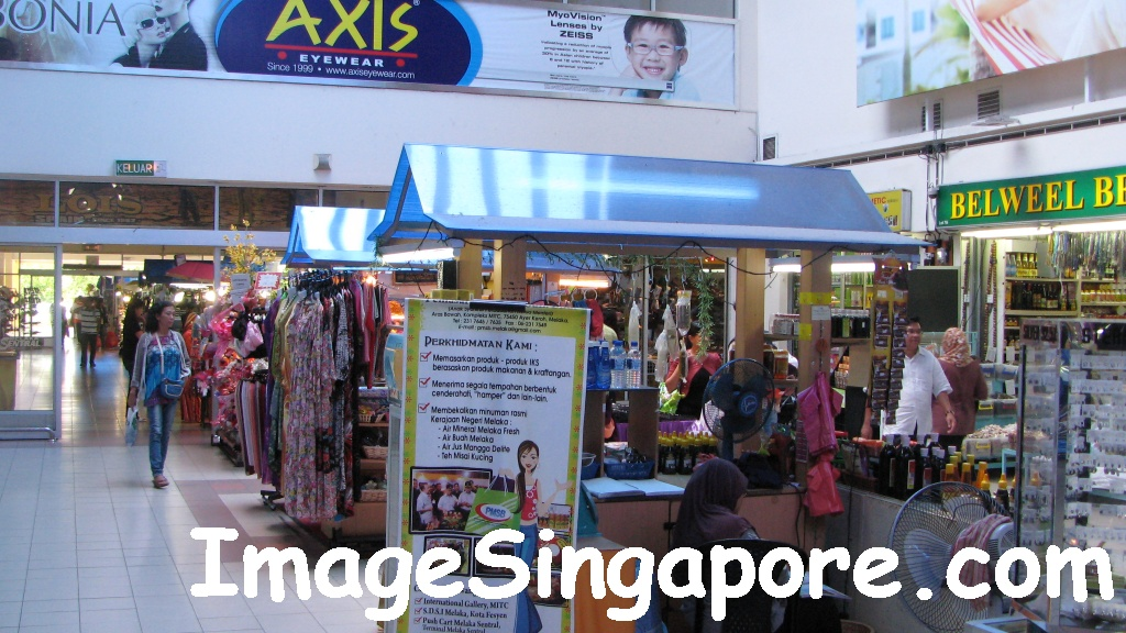 It is also a Mall - Melaka Sentral Bus Terminal