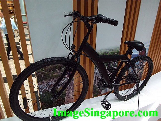 Cool Black Bicycle