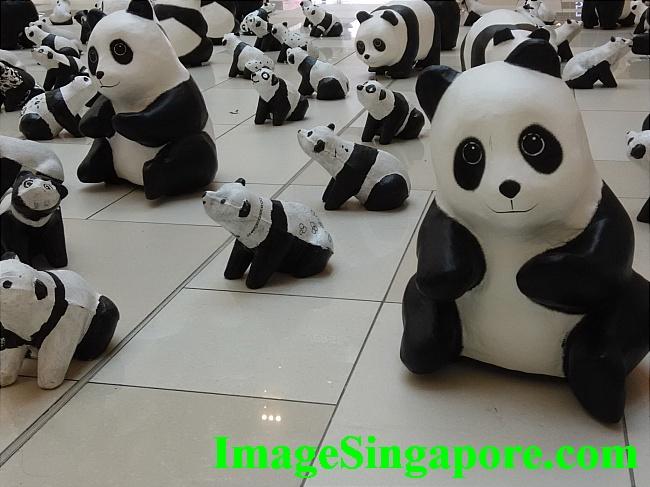 1600 Pandas Exhibition held at City Square Johor Bahru.