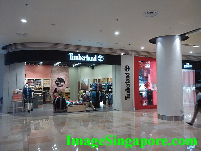 This mall has more upmarket retail stores.