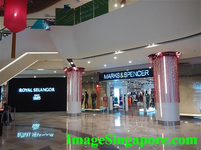 Mark & Spencer store.