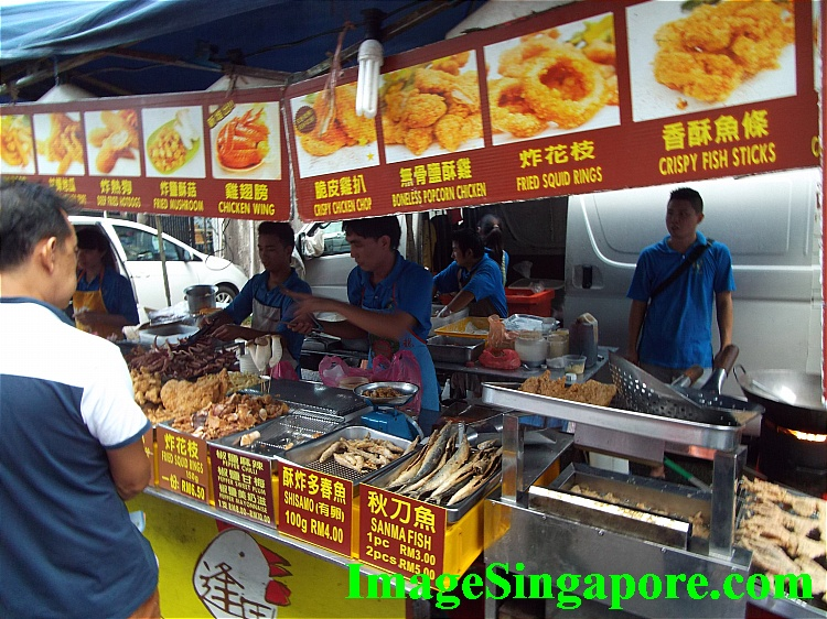 Night Market / Pasar Malam near KSL Mall & Hotel.
