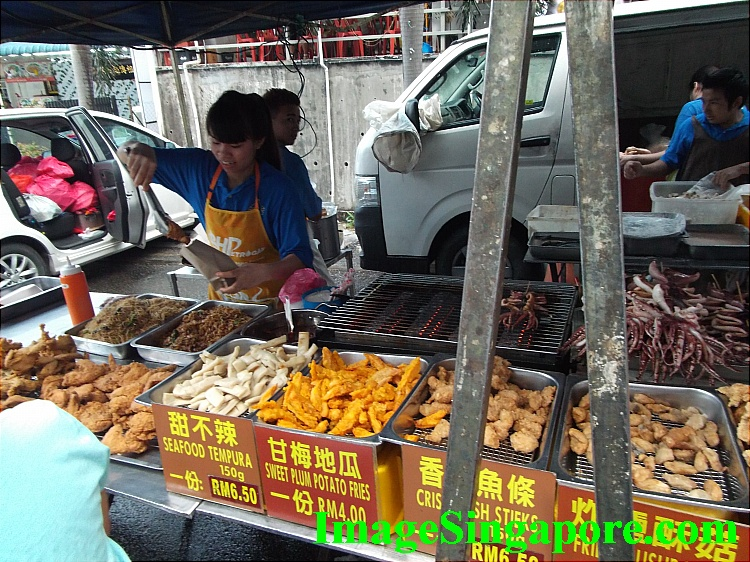 Street food near KSL Mall