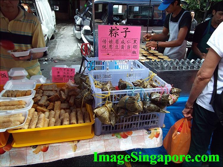 Bak Chang or dumplings.