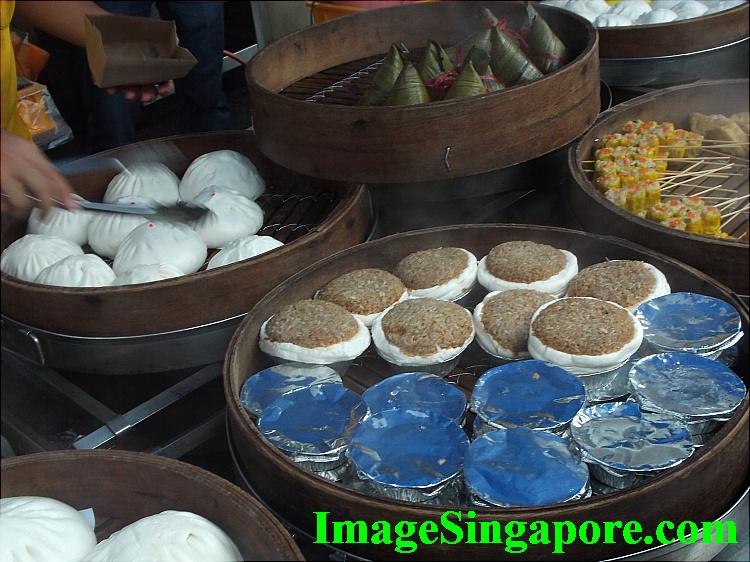 Many Dim Sum items to choose.