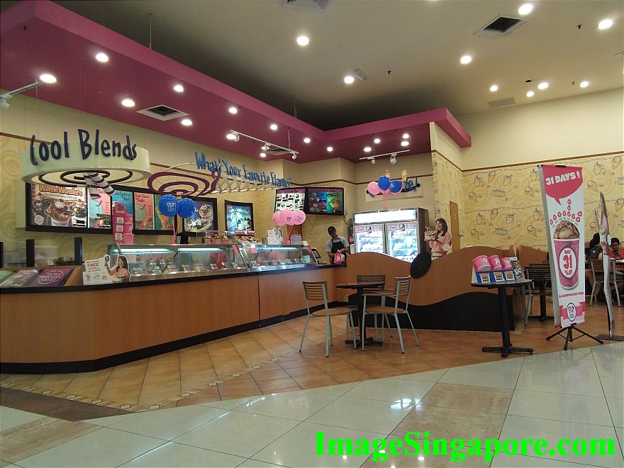 Baskin Robbins at Aeon Mall Permas Jaya