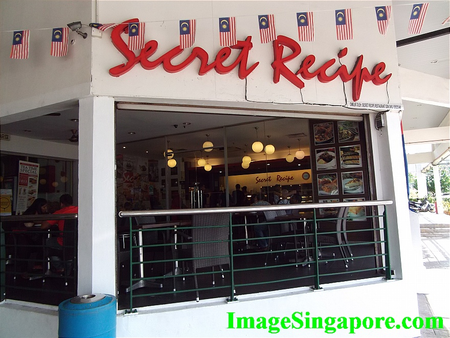 Secret Recipe Restaurant at Perling Mall