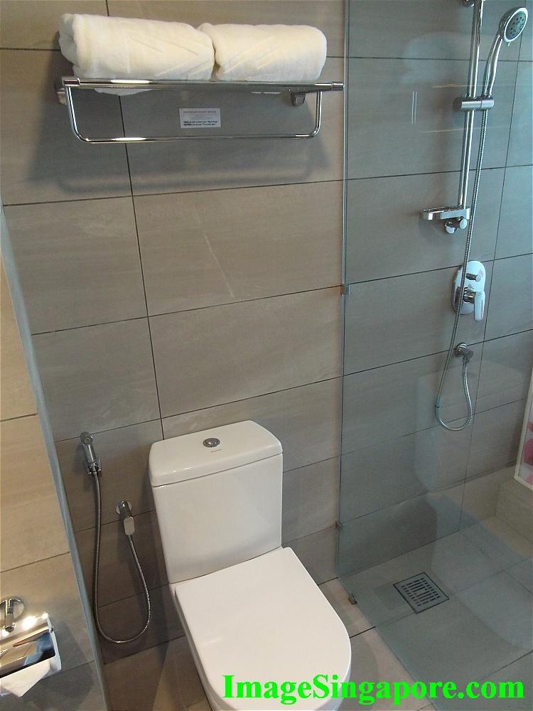 Clean Bathroom at Amerin Hotel Johor Bahru