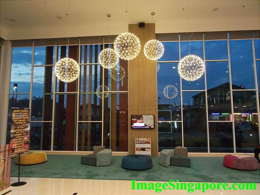 The Lobby of Amerin Hotel Johor Bahru