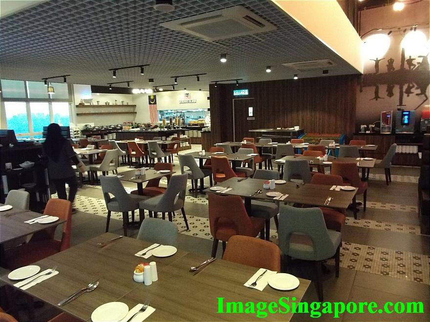 Restaurant at Amerin Hotel Johor Bahru
